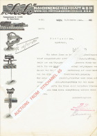 "Lettre 1921 WIEN - ""LELE"" -  Maschinengesellschaft M.B.H. - Autriche"