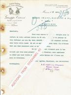 Lettre 1926 MONZA - GUISEPPE GAROZZI -  Fabbrica Di Cappellifcio D'acquaseria - Italy