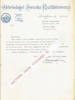 Lettre 1950 LANDSKRONA - AKTIEBOLAGER SVENSKA KRUTFAKTORIERNA - Autres