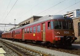 SUISSE - ZURICH Chemin De Fer SBB CFF FFS - Automotrice électrique RABDe 12/12 1106  - Détails Sur Le 2ème Scan - Trains