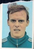 Johny Thio België Kaartje Chromo (5 X 7cm) Mexico 1970 Coupe Du Monde Voetbal Football Soccer Voetballer - Trading Cards