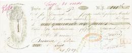 Mandat 1853 PARIS - DANIEL Et Cie - Editeurs D'estampes - Francia