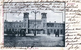 BUCARESCI 1924 - Gara De Nord, Karte Gel.1924, Abgelöste Marke - Rumänien