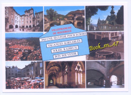 {64912} 12 Aveyron Villefranche De Rouergue , Multivues ; Pas Une Seconde Pour Vous écrire ... - Villefranche De Rouergue