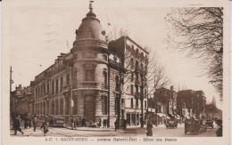 Seine  Saint  Denis :  SAINT  OUEN  :  Avenue  Gabriel  Péri  , Hotel Des  Postes  1951 - Saint Ouen