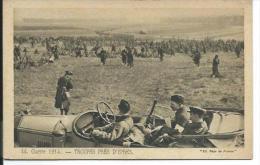 BELGIQUE... Guerre 1914. Troupes Près D'YPRES - Andere