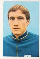 Stefan Aladjov Bulgaije Kaartje Chromo (5 X 7cm) Mexico 1970 Coupe Du Monde Voetbal Football Soccer Voetballer - Trading Cards