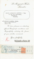 Lettre 1925 LEICESTER - St. MARGARET'S WORKS - Royaume-Uni