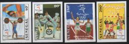 Sénégal 2000 IMPERF NON DENTELES Jeux Olympiques Olympic Games Olympia SYDNEY Taekwondo Handball Sports Haltérophilie
