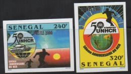 Sénégal 2001 IMPERF NON DENTELES UNHCR Nations Unies United Nations UNO ONU Mi. 1940/1941