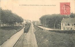 COMBS LA VILLE LA GARE DESCENTE DE PARIS - Combs La Ville