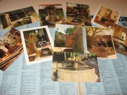 LOT De 10 Cpm De Fontaines Ecrites Et Non Ecrites Toutes Differentes - 5 - 99 Postales