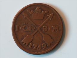 SUEDE 1 ORE SM 1759/69 - Suède