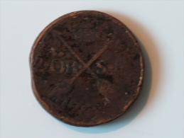 SUEDE 2 ORE SM 1762 - Suède
