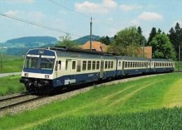 SUISSE - LANZENHAUSERN Chemin De Fer BLS - Automotrice électrique RBDe 4/4 728 - Détails 2ème Scan - Trains