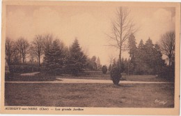 CPA - AUBIGNY Sur Nère (18) - Les Grands Jardins - 1944 - Aubigny Sur Nere