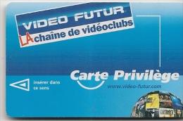 CARTE-MAGNETIQUE-VIDEO FUTUR-PRIVILEGE-TBE