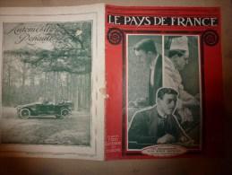 1914 JOURNAL De GUERRE (Le Pays De France) : Cuisine Héroïque; RABAT; Grenoble; MORVAN; Vannes;  Pont De LEZARDRIEUX - Revues & Journaux