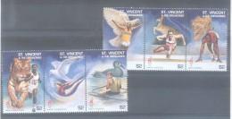 ST VINCENT & THE GRENADINES ATLANTA 1996 ATLANTA 96 JEUX OLYMPIQUES AUX ETATS UNIS DISCIPLINES ATHLETES EN ACTION ASSOCI - St.Vincent & Grenadines