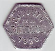 RARE - Monnaie De Nécessité - Colonie De La Réunion. 5c - - Monetari / Di Necessità