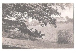 VIEW FROM THE CASTLE HADLEIGH NR SUDBURY IPSWICH UNUSED SUFFOLK NR ESSEX BORDERS
