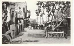 Los Angeles California, Olivera Street Scene, c1940s Vintage Plunkett Real Photo Postcard