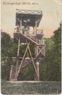 Tulbingerkogel-Warte Observation Tower, Austria C1910s Vintage Postcard - Oostenrijk