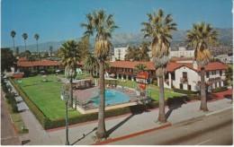 Santa Barbara California, La Casa Del Mar Motel, c1960s Vintage Postcard