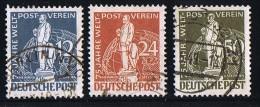 1949  75è Ann. UPU 3 Timbres Oblitérés - [5] Berlín