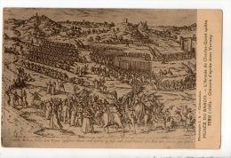 TUNIS . MUSÉE DU BARDO . L´ARMÉE DE CHARLES-QUINT QUITTE TUNIS (1535) . GRAVURE D´APRÈS JEAN VERMAY - Réf. N°2111 - - Tunesië