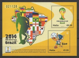 Malta (2014) - Block -  /  Soccer - Futbol - Calcio - Football - FIFA World Cup Brazil - Brasil - World Cup