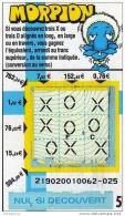 47/     FRANCAISE DES JEUX   MORPION  21902  FINLANDE - Lottery Tickets