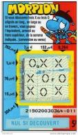 48/  FRANCAISE DES JEUX    MORPION  21902   FRANCE - Lottery Tickets