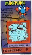 62/   FRANCAISE DES JEUX      MORPION  SERIE   57003 - Lottery Tickets