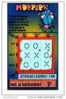 63/   FRANCAISE DES JEUX      MORPION  SERIE  57003 - Lottery Tickets