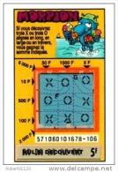 79/   FRANCAISE DES JEUX      MORPION  SERIE  57106   Trait Bleu - Lottery Tickets