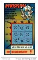 88/   FRANCAISE DES JEUX      MORPION  SERIE  57107   Trait Rouge - Lottery Tickets