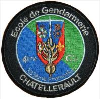 Gendarmerie - ESOG CHATELLERAULT 333ème Promotion 4ème Compagnie - Police