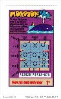 99/   FRANCAISE DES JEUX     MORPION   93202  Trait Rouge - Lottery Tickets