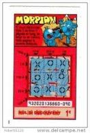 100/  FRANCAISE DES JEUX     MORPION   93202   TRAIT ROUGE - Lottery Tickets