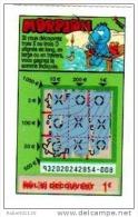 103/   FRANCAISE DES JEUX     MORPION   93202  Trait Rouge - Lottery Tickets