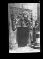 BOURGES Cher 18 : Intérieur De La Cathédrale : Porte De La Crypte Avec Ventaux Du XV E Siècle - Bourges