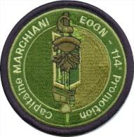 Gendarmerie - EOGN 114ème Promotion MARCHIANI BV Vert Bord Noir (modèle Fauté) - Police