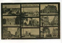 CPA Allemagne  :  Gruss Aus HERTEN  Multi Vues   1923   VOIR  DESCRIPTIF    §§§§ - Non Classés