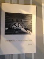 """Carte Maximum First Day Cover """"Cathédrale De La Résurrection Evry"""" (Yv 2984) - 1990-99"""