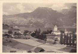 Photo Originale 1953 Spiez Lac De Thoune - Sin Clasificación