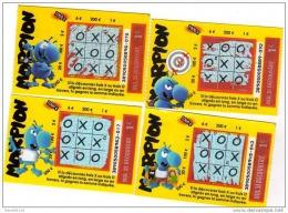 310/    FRANCAISE DES JEUX       MORPION  SERIE COMPLETE     38905 - Lottery Tickets