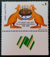 BICENTENAIRE DE L'AUSTRALIE 1988 - NEUF ** - YT 1026 - MI 1083 - Israel