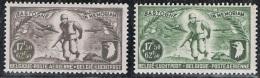 """Année 1946 - PA12 à PA13  - Série """"Bastogne""""  - Cote 3,20€ - Poste Aérienne"""