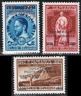 Année 1947 - PA15A** à PA17A**  - Père Damien  - LUCHTPOST- POSTE AERIENNE  - Cote 2,40€ - Airmail